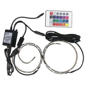 ΤΑΙΝΙΑ LED DIMMABLE ΜΕ ΣΥΝΔΕΣΗ USB 0,50M 7,2W 5V RGB IP65 ΣΕΤ 2ΤΜΧ PRO