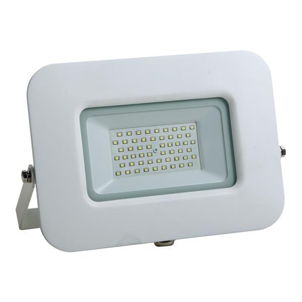 ΠΡΟΒΟΛΕΑΣ LED SMD ΒΑΣΗ 360° 50W ΛΕΥΚΟΣ IP65 6500K PLUS