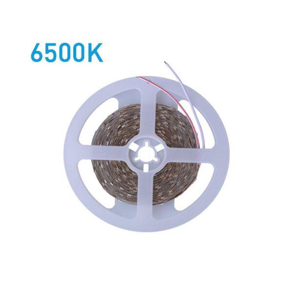 ΤΑΙΝΙΑ LED 5 ΜΕΤΡΩΝ 10W 24V 6500K IP68 PRO