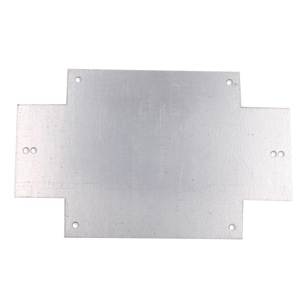 ΠΛΑΚΑ ΣΤΗΡΙΞΗΣ ΜΕΤΑΛΛΙΚΗ 180Χ118Χ1.5mm (1009.PF)