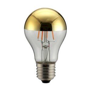 Geyer LED Crown Mirror Gold A60 6W E27 2700K 480lm dim