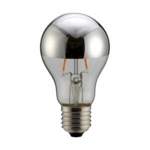 Geyer LED Crown Mirror Silver A60 6W E27 2700K 480lm dim