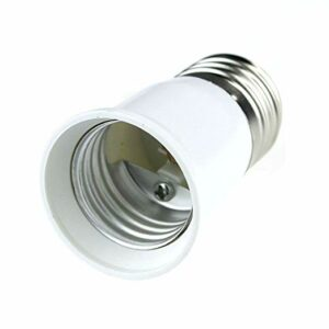 Πλαστικός Αντάπτορας από Ε27 σε Ε27 GloboStar 02228